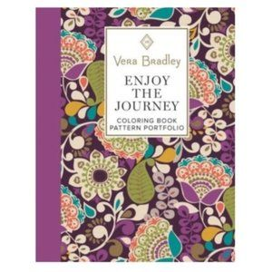 Vera Bradley Enjoy the Journey Adult Coloring Book